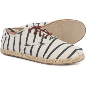 NWT TOMS Women's Striped Cordones